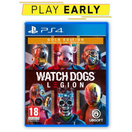 Coperta WATCH DOGS LEGION GOLD EDITION - PS4