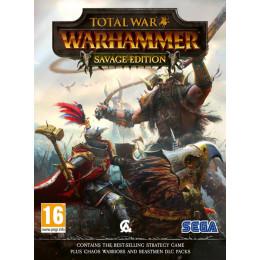 Coperta TOTAL WAR WARHAMMER SAVAGE EDITION - PC
