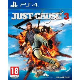 Coperta JUST CAUSE 3 - PS4