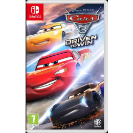 Coperta CARS 3 DRIVEN TO WIN - SW