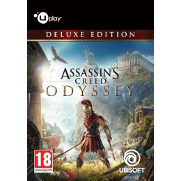 Coperta ASSASSINS CREED ODYSSEY DELUXE EDITION - PC (UPLAY CODE)