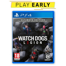 Coperta WATCH DOGS LEGION ULTIMATE EDITION - PS4