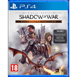 Coperta MIDDLE EARTH SHADOW OF WAR DEFINITIVE EDITION - PS4
