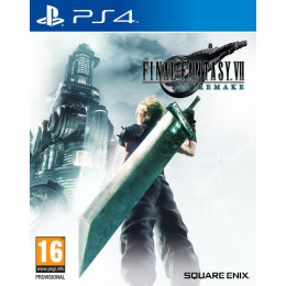 Coperta FINAL FANTASY VII HD REMAKE - PS4