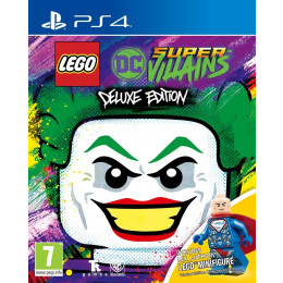 Coperta LEGO DC SUPERVILLAINS DELUXE EDITION - PS4