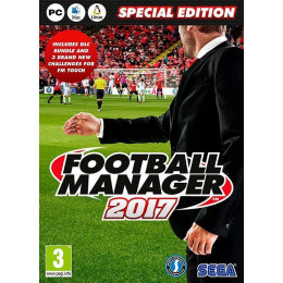 Coperta FOOTBALL MANAGER 2017 LIMITED EDITION - PC
