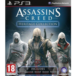 Coperta ASSASSINS CREED HERITAGE COLLECTION - PS3