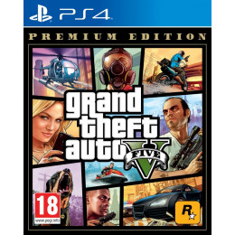 Coperta GRAND THEFT AUTO 5 PREMIUM EDITION - PS4