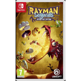 Coperta RAYMAN LEGENDS DEFINITIVE EDITION - SW