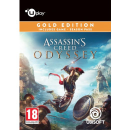 Coperta ASSASSINS CREED ODYSSEY GOLD EDITION - PC (UPLAY CODE)
