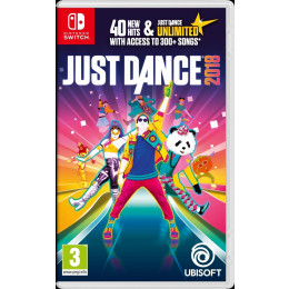Coperta JUST DANCE 2018 - SW