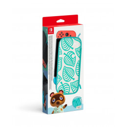Coperta NINTENDO SWITCH CARRYING CASE & SCREEN PROTECTOR ANIMAL CROSSING EDITION - GDG