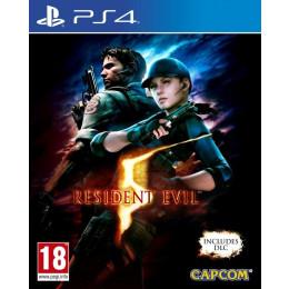 Coperta RESIDENT EVIL 5 - PS4