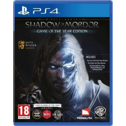 Coperta MIDDLE EARTH SHADOW OF MORDOR GOTY - PS4