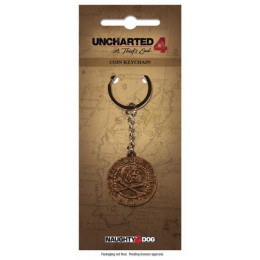 Coperta UNCHARTED PIRATE COIN METAL KEYCHAIN