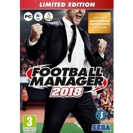 Coperta FOOTBALL MANAGER 2018 LIMITED EDITION - PC