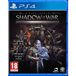 Coperta MIDDLE EARTH SHADOW OF WAR SILVER EDITION - PS4