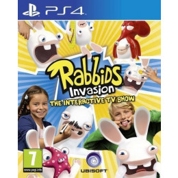 Coperta RABBIDS INVASION (PLAYSTATION CAMERA COMPATIBLE) - PS4