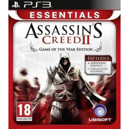 Coperta ASSASSINS CREED 2 GOTY ESSENTIALS - PS3