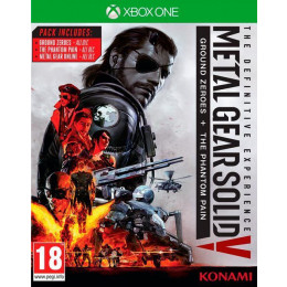 Coperta METAL GEAR SOLID 5 DEFINITIVE EXPERIENCE - XBOX ONE