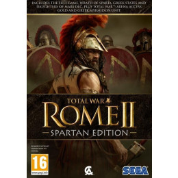 Coperta TOTAL WAR ROME 2 SPARTAN EDITION - PC
