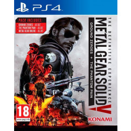 Coperta METAL GEAR SOLID 5 DEFINITIVE EXPERIENCE - PS4