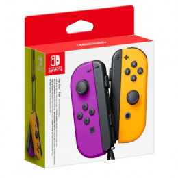 Coperta NINTENDO SWITCH JOY-CON PAIR NEON PURPLE & NEON ORANGE - GDG