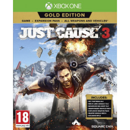 Coperta JUST CAUSE 3 GOLD EDITION - XBOX ONE