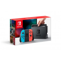 Coperta NINTENDO SWITCH CONSOLE (WITH NEON RED & NEON BLUE JOY-CONS) - GDG