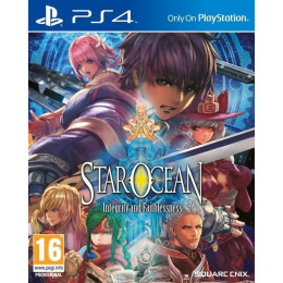 Coperta STAR OCEAN INTEGRITY AND FAITHLESSNESS - PS4