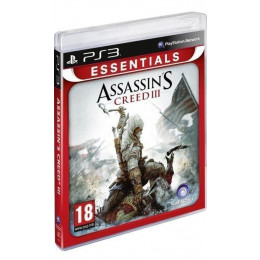 Coperta ASSASSINS CREED 3 ESSENTIALS - PS3