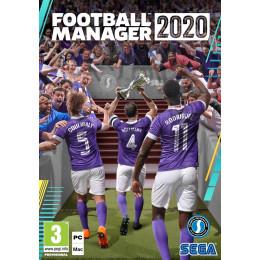 Coperta FOOTBALL MANAGER 2020 - PC