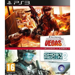 Coperta COMPILATION GHOST RECON ADVANCED WARFIGHTER 2 & RAINBOW SIX VEGAS 2 - PS3
