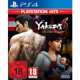 Coperta YAKUZA 6 THE SONG OF LIFE PLAYSTATION HITS - PS4