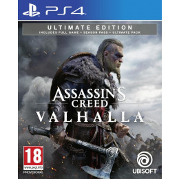 Coperta ASSASSINS CREED VALHALLA ULTIMATE EDITION - PS4