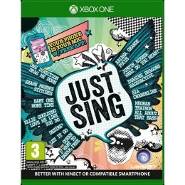 Coperta JUST SING - XBOX ONE