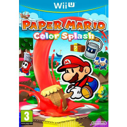 Coperta PAPER MARIO COLOR SPLASH - WII U