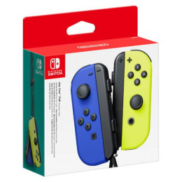 Coperta NINTENDO SWITCH JOY-CON PAIR NEON BLUE & NEON YELLOW - GDG