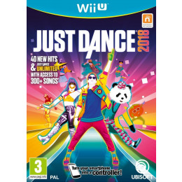 Coperta JUST DANCE 2018 - WII U