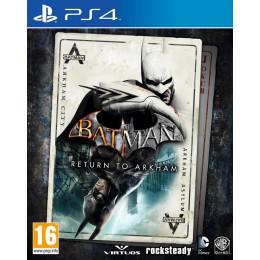 Coperta BATMAN RETURN TO ARKHAM - PS4