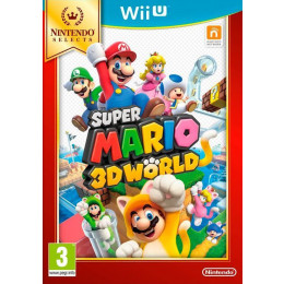 Coperta SUPER MARIO 3D WORLD SELECTS - WII U