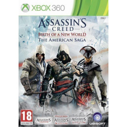 Coperta ASSASSINS CREED AMERICAN SAGA - XBOX360