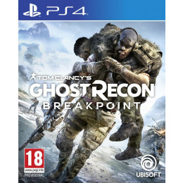 Coperta GHOST RECON BREAKPOINT - PS4