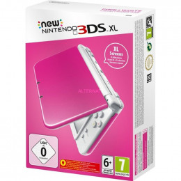 Coperta NEW 3DS XL CONSOLE PINK WHITE - GDG