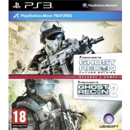 Coperta COMPILATION GHOST RECON ADVANCED WARFIGHTER 2 & GHOST RECON FUTURE SOLDIER - PS3