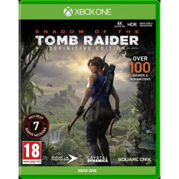 Coperta SHADOW OF THE TOMB RAIDER DEFINITIVE EDITION - XBOX ONE