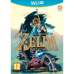 Coperta THE LEGEND OF ZELDA BREATH OF THE WILD - WII U