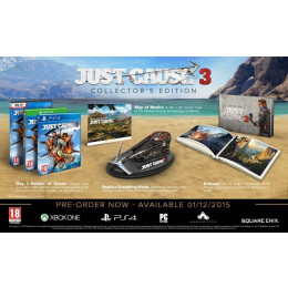Coperta JUST CAUSE 3 COLLECTORS EDITION - XBOX ONE