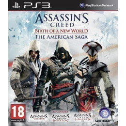 Coperta ASSASSINS CREED AMERICAN SAGA - PS3