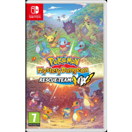 Coperta POKEMON MYSTERY DUNGEON RESCUE TEAM DX - SW